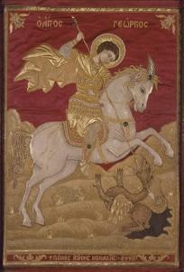 St. George slaying Dragon