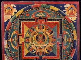 Mandala of Amitayus, Tibet, 19th century, Rubin Museum of Art