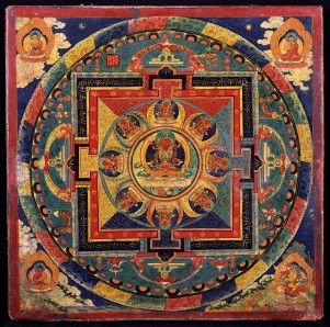 Mandala of Amitayus, Tibet, 19th century, Rubin Museum of Art