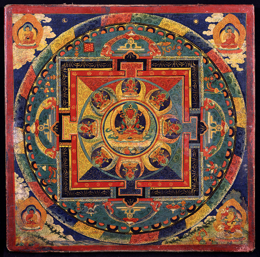 images of enlightenment the buddhist mandala new acropolis library